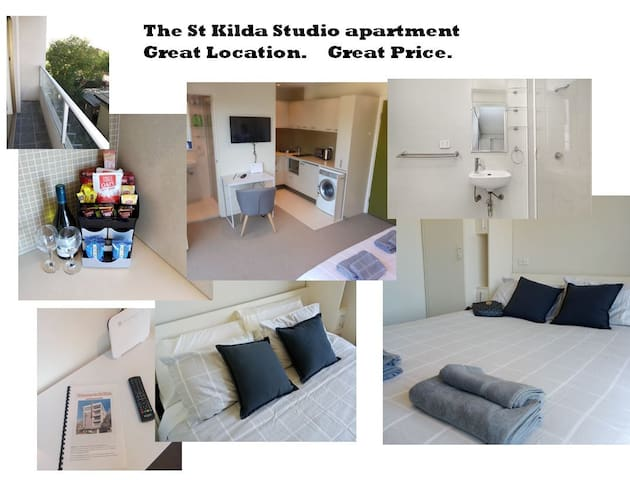 The St Kilda studio - free wifi and Netflix