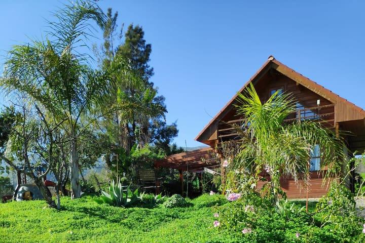 Wooden House El Chorro