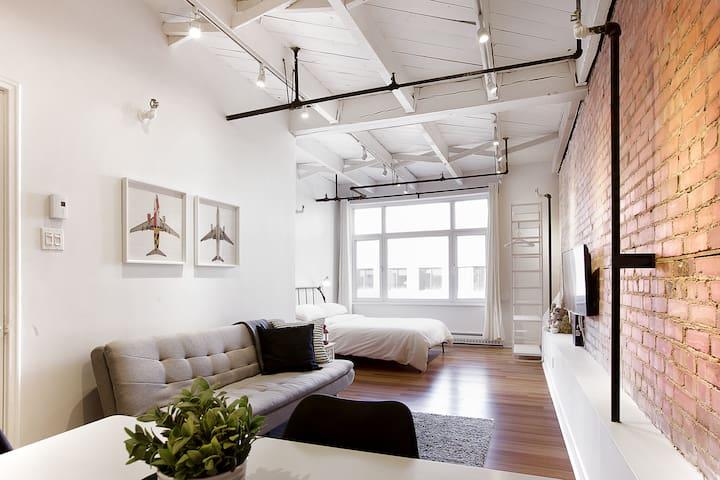 Comfy loft Downtown Quebec City