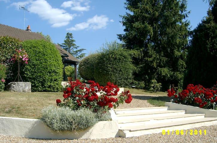 Neuville-sur-Brenne的民宿