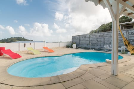 Beautiful creole villa with private pool.