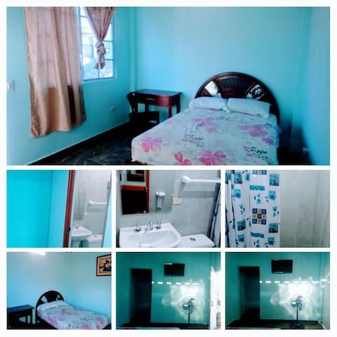 Habitación confortable, segura y única
