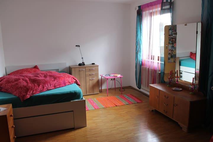 Ruhiges Zimmer in einer angenehmen Atmosphäre