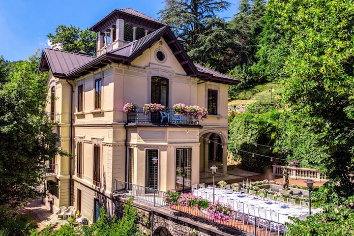 Villa Alceo, Luxury wedding Villa near Como