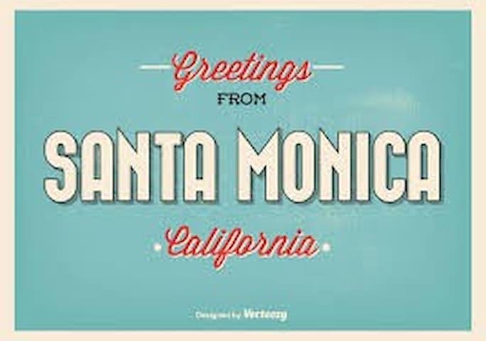 Santa Monica BEACH Studio E - 1 block to beach