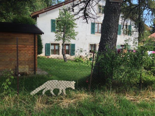 Saint-Brais的民宿