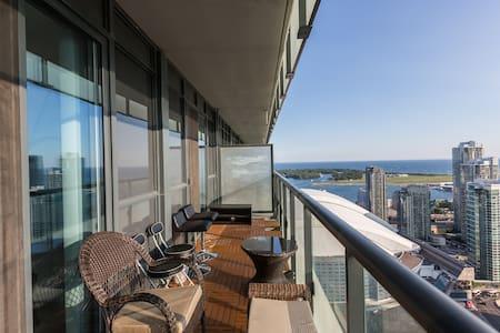 3 BR Skyline+2 Bath, By CN Tower, MTCC & Free PRKG