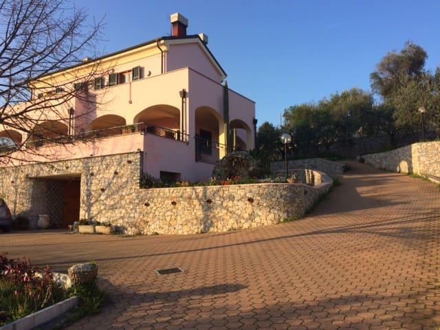 small luxury apartment in new villa