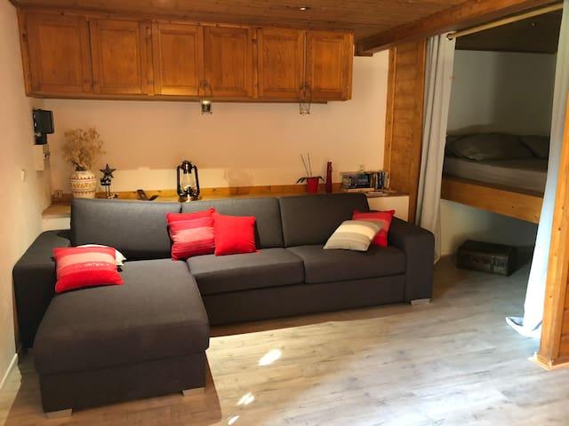 Appartement individuel dans chalet de montagne