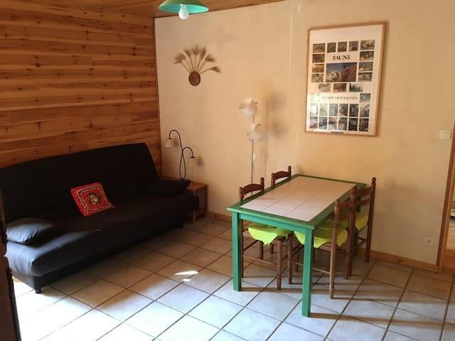 Aiguilles的民宿