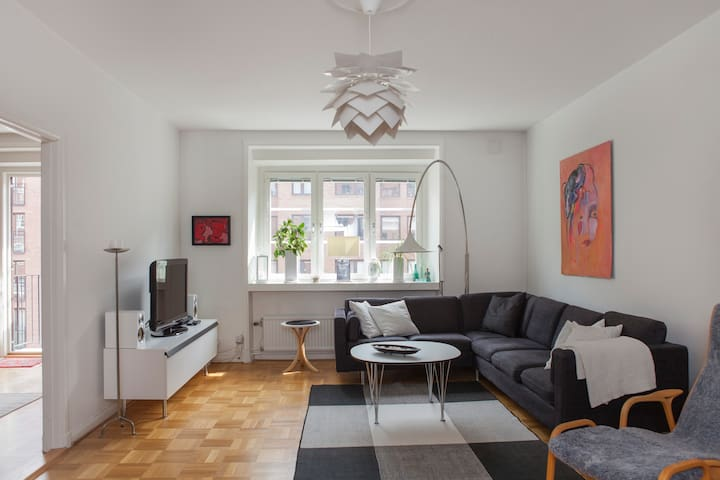 Light apartment of 117 m2 in central Gothenburg