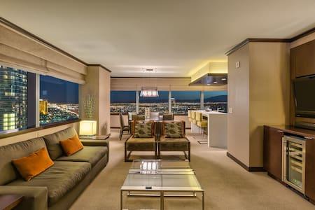 Biggest Vdara Penthouse! 2+BR Stunner Strip Views!