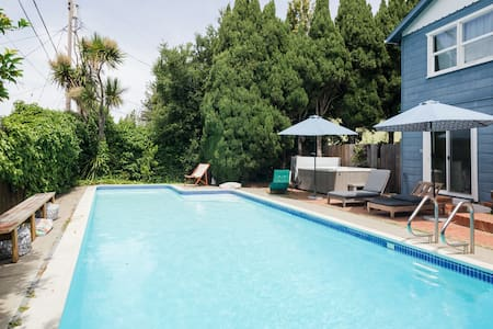 Calming Oasis, Steps from Napa w/ Jacuzzi & Pool
