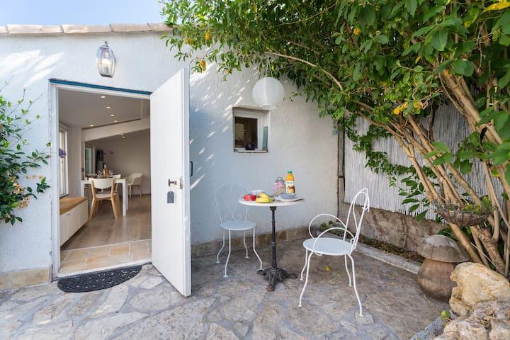 Small residence near the sea