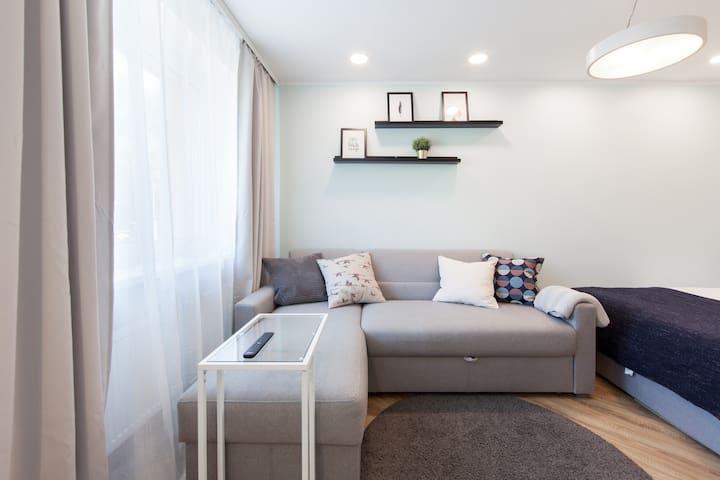Nordic Design apartment in City Center