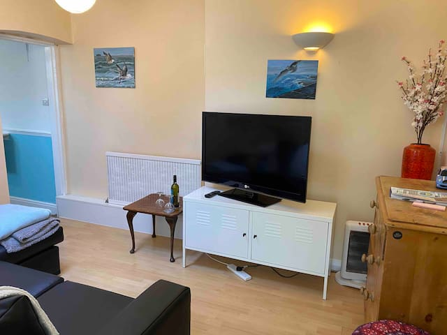 Small Garden flat in central southsea