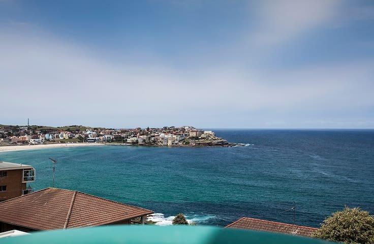 两床豪华房间,有海滩和公园的景色