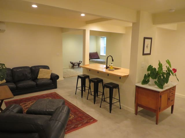 Large, Private Woodstock Suite