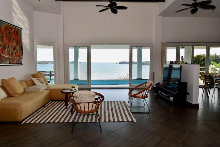 Sand Dollar Villa by the sea at Boca Chica Panama