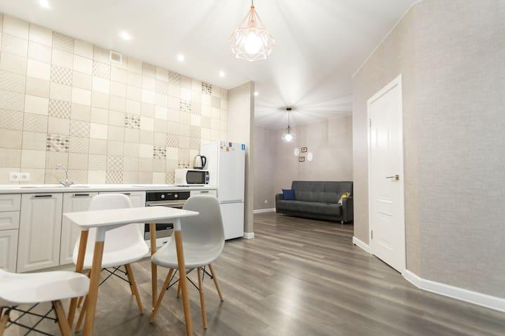 Квартира с дизайнерским ремонтом на Плеханова
