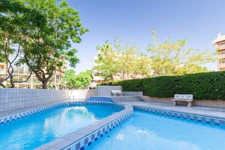 Acogedor y céntrico apartamento (fibra y piscina)