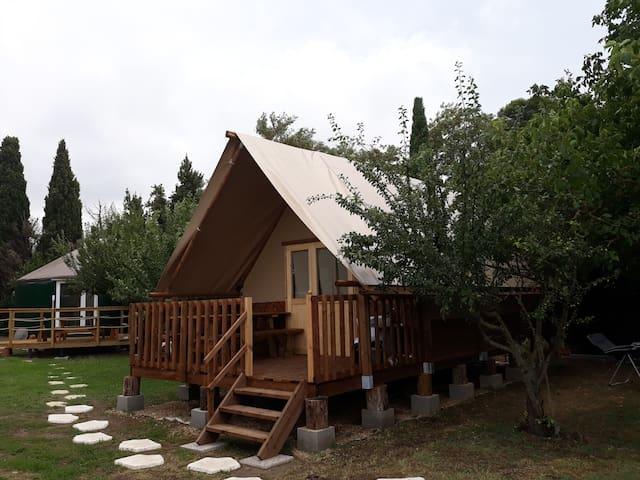 Chalet lodge et son spa privatif