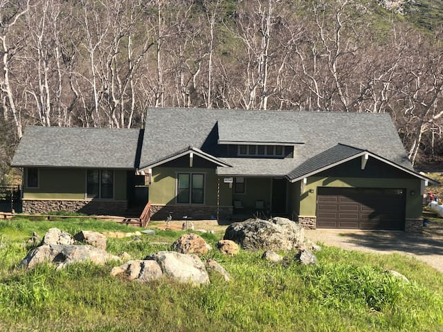 Cabin in natural landscape w/ river access