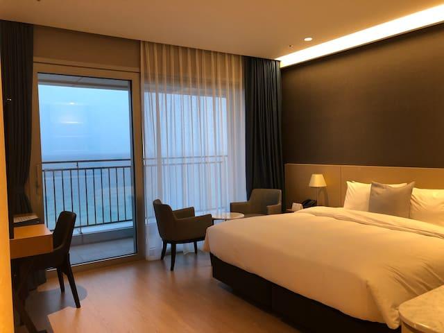 Saint Jonhs Hotel Deluxe-Double Full-Ocean View!!