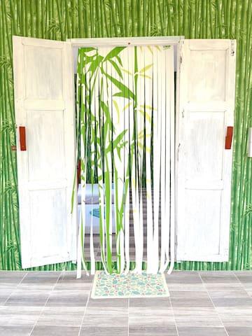Buriram bamboo cottage