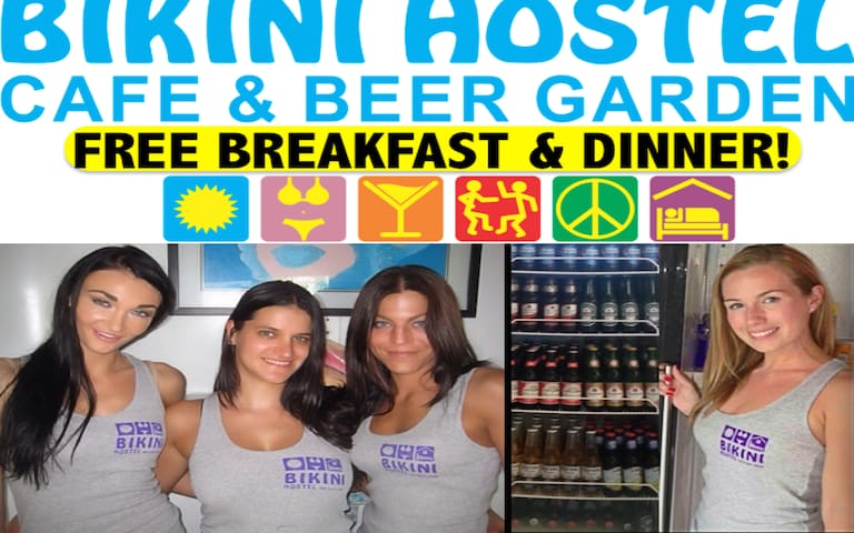 Bikini Hostel - Meals Included (9 Bed Shared Dorm)