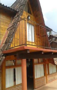 Beautiful wooden cabin
