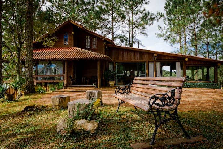 Casa de Campo Inesquecível - Rancho Queimado - SC