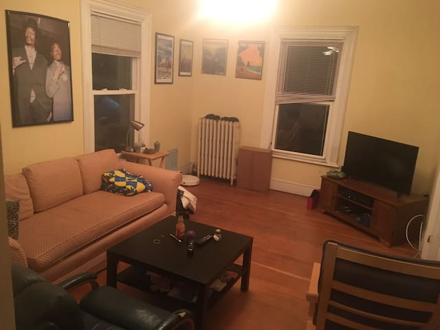 Room for rent 1 min from heart of Davis square!