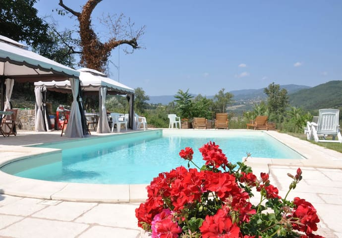 Tizzano Val Parma的民宿