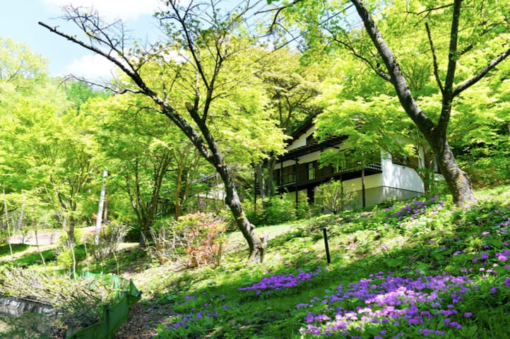 四季の彩りが鮮やかなレイクビューハウス 軽井沢駅から車で10分