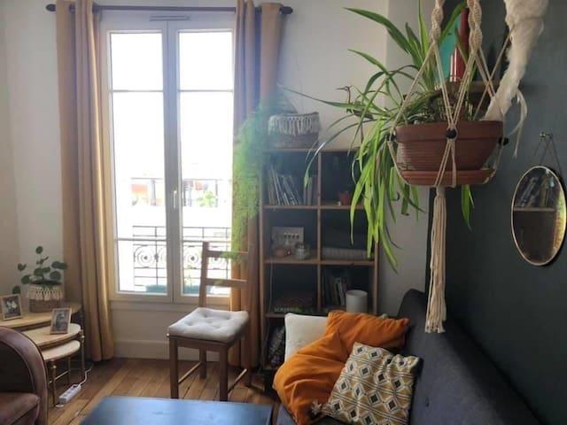 Chambre en colocation - Porte de Paris 19eme