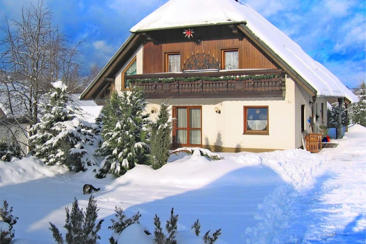 Schwarzenberg/Erzgebirge的民宿