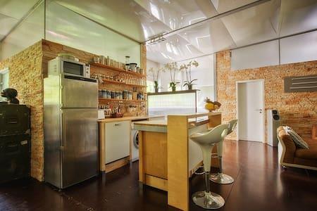 Design LoftApartment 100qm & Garten