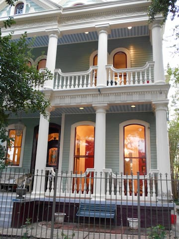 The Byrnes House - Classic Greek Revival Home