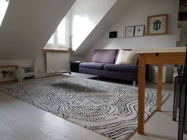 Chic and cosy central flat