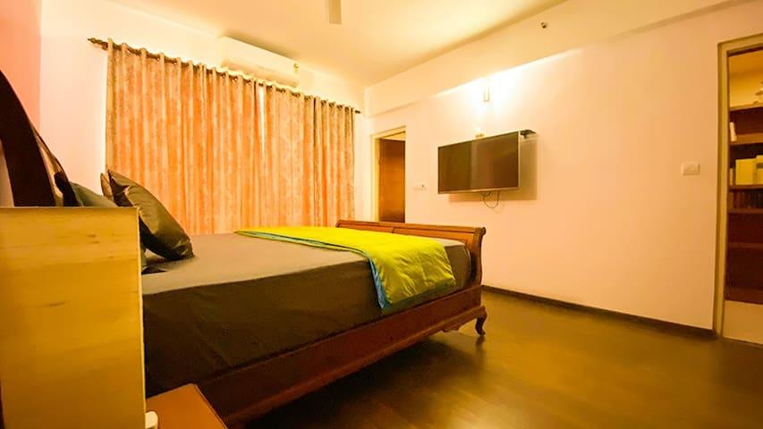 Luxury Apartment with Sea view Single Bedroom