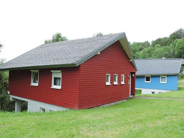 Feriendorf Tieringen, (Meßstetten), Ferienhaus 1 Unterdorf, 65qm, 2. Schlafzimmer, max. 4 Personen