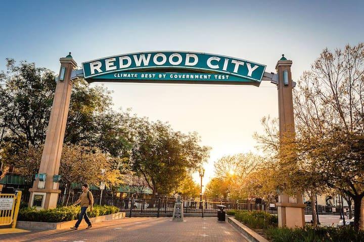 红杉城(Redwood City)的民宿