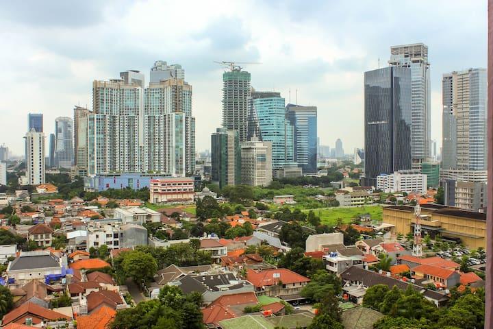 A Spacious Studio at Tamansari Semanggi Jakarta