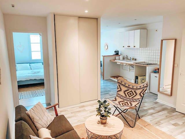 Beautiful flat in the heart of Bayonne