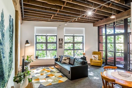 Tree Top View Warehouse Apartment