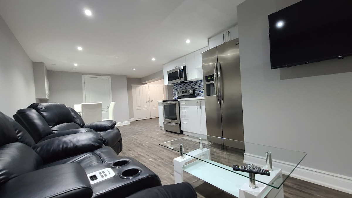 Newly renovated fully furnished basement