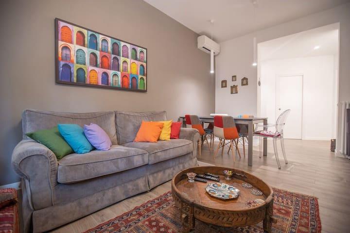 Bibi in blue - private room in San Giovanni