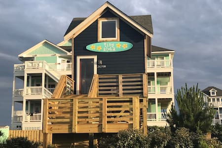 Tiny House on semi-oceanfront lot