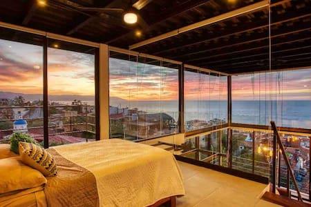 Loft con hermosa vista al mar de Vallarta